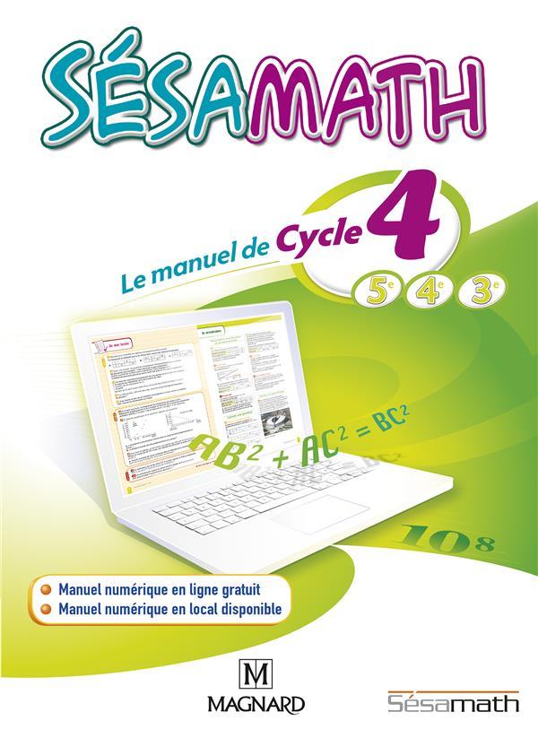 SESAMATH CYCLE 4 ELEVE