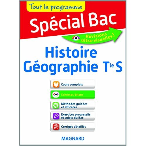 SPECIAL BAC HISTOIRE GEOGRAPHIE TERM S