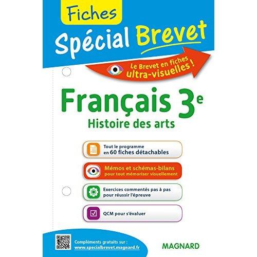 FICHES FRANCAIS (+HISTOIRE DES ARTS) 3E