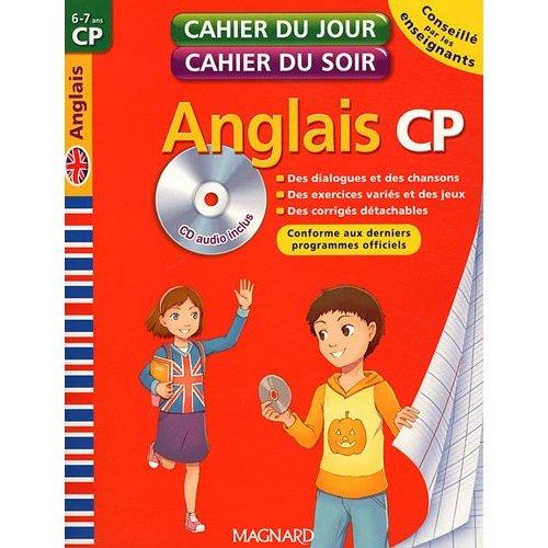 CAHIER DU JOUR / SOIR ANGLAIS CP + CD