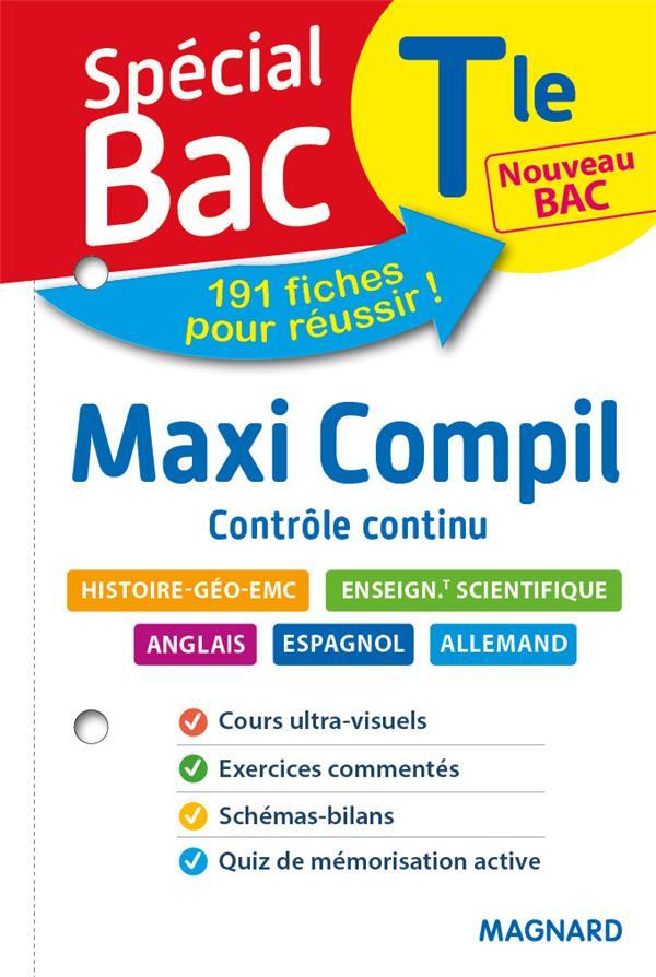 SPECIAL BAC MAXI COMPIL DE FICHES CONTROLE CONTINU TLE BAC 2021