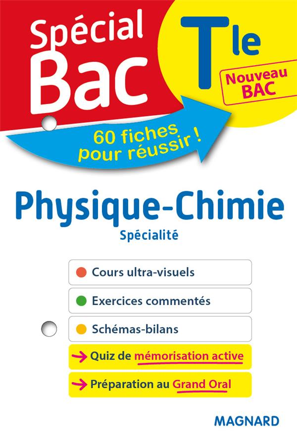 SPECIAL BAC FICHES PHYSIQUE CHIMIE TLE BAC 2021