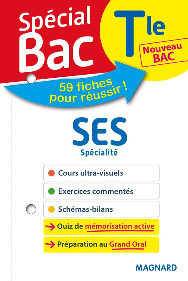 SPECIAL BAC FICHES SES TLE BAC 2021