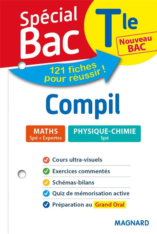 SPECIAL BAC COMPIL 2 SPES MATHS PHYSIQUE TLE BAC 2021 - TOUT LE PROGRAMME EN 121 FICHES, COURS UTLRA