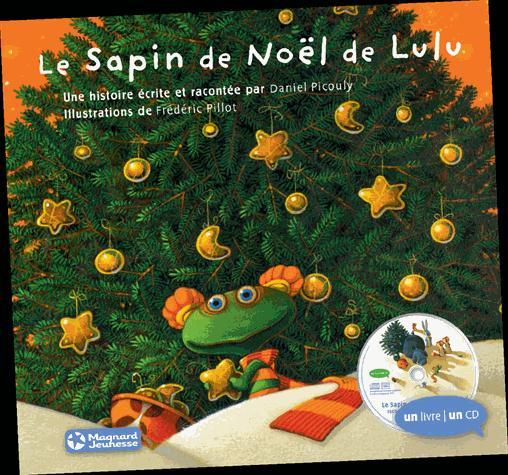 SAPIN DE NOEL DE LULU (AVEC UN CD) (LE)