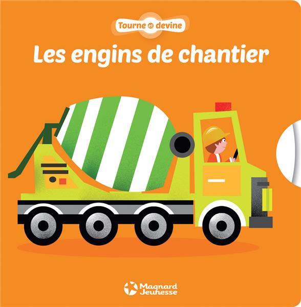 TOURNE ET DEVINE LES ENGINS DE CHANTIER