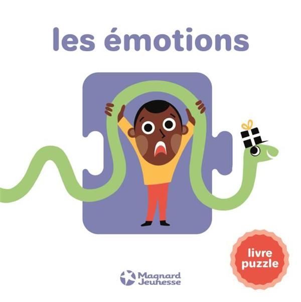 LES EMOTIONS - LIVRE PUZZLE