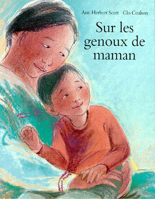 SUR LES GENOUX DE MAMAN