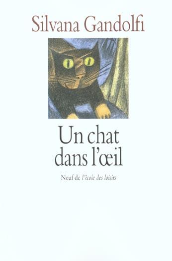 UN CHAT DANS L'OEIL