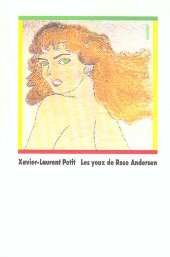 YEUX DE ROSE ANDERSEN (LES)