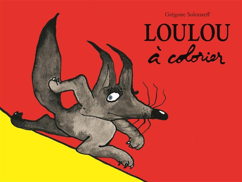 LOULOU A COLORIER