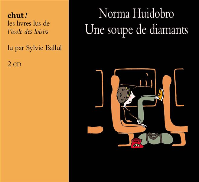 UNE SOUPE DE DIAMANTS -3CD (LIVRE LU)