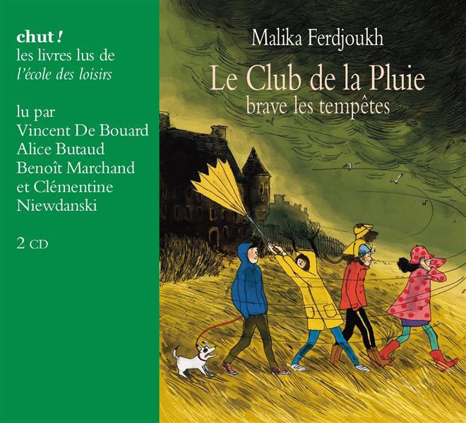LE CLUB DE LA PLUIE BRAVE LES TEMPETES LIVRE LU