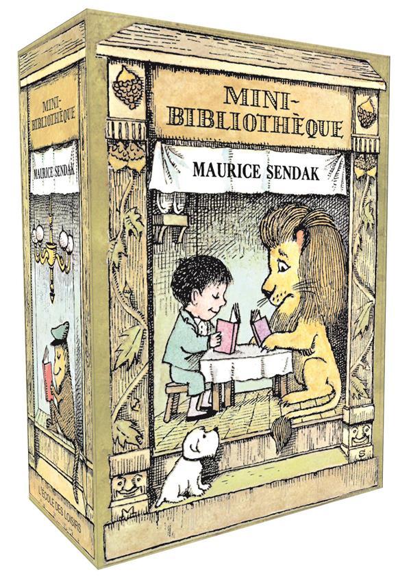 MINI BIBLIOTHEQUE COFFRET NOUVELLE EDITION
