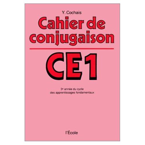 CAHIER DE CONJUGAISON CE1