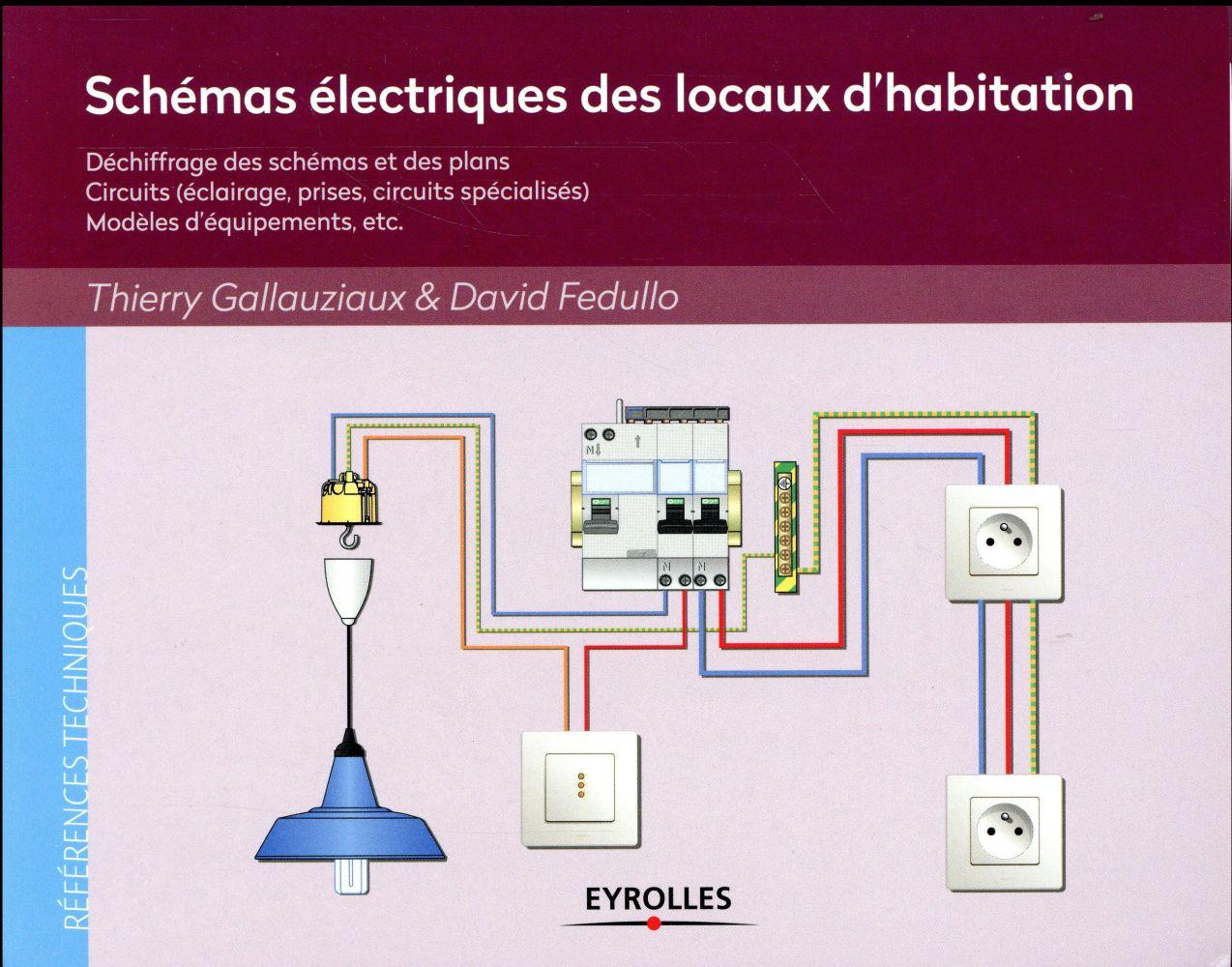 SCHEMAS ELECTRIQUES DES LOCAUX D HABITATION