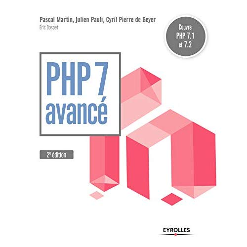 PHP 7 AVANCE  5E EDITION - COUVRE PHP 7 1 ET 7 2