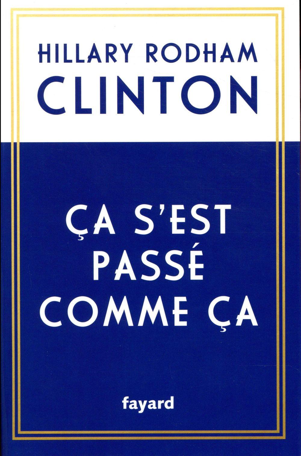 CA S'EST PASSE COMME CA