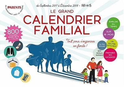 LE GRAND CALENDRIER FAMILIAL 2017/2018