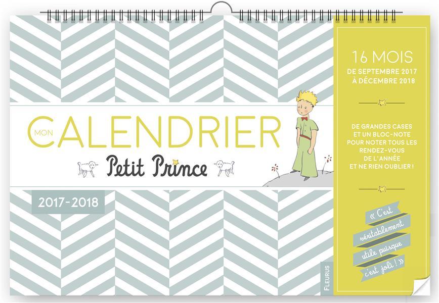 MON CALENDRIER PETIT PRINCE 2017/2018