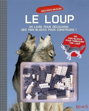 LE LOUP (LIVRE + MINI BLOCKS)
