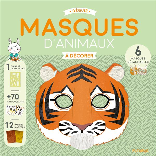 MASQUES D'ANIMAUX A DECORER