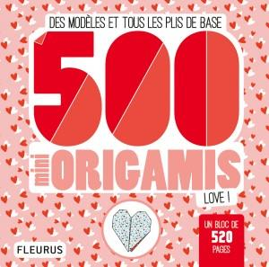 500 MINI ORIGAMIS - LOVE !