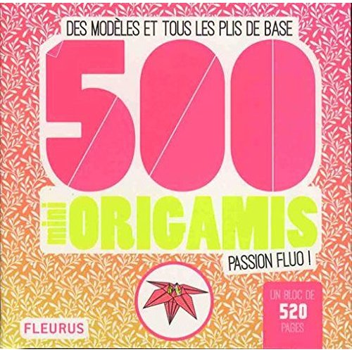 500 MINI ORIGAMIS PASSION FLUO !
