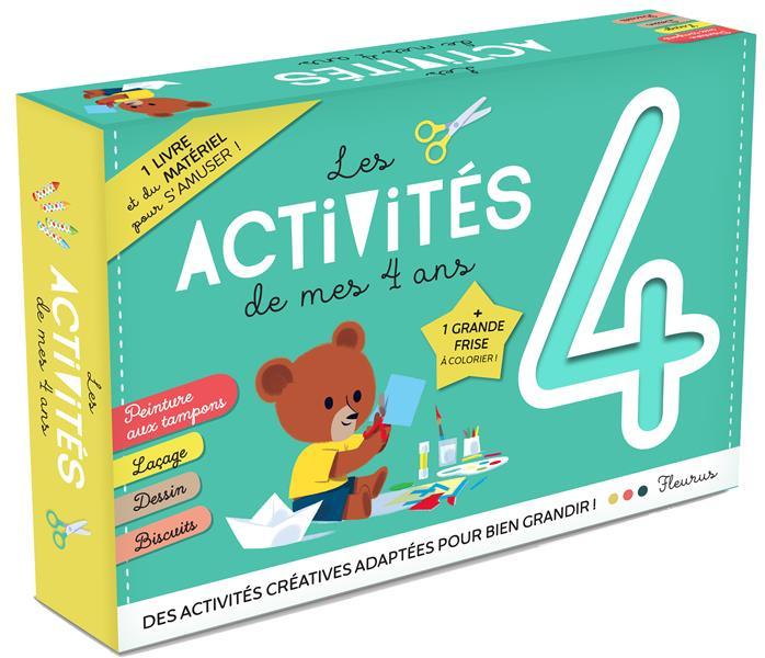 LES ACTIVITES DE MES 4 ANS