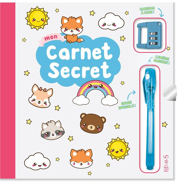 MON CARNET SECRET (FILLE - KAWAII)