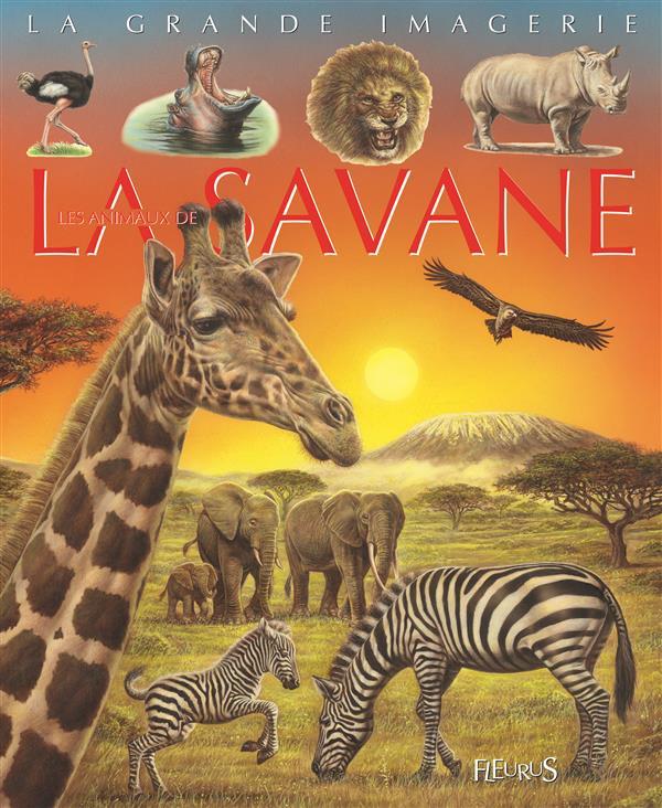 ANIMAUX DE LA SAVANE/IMAG ANIM