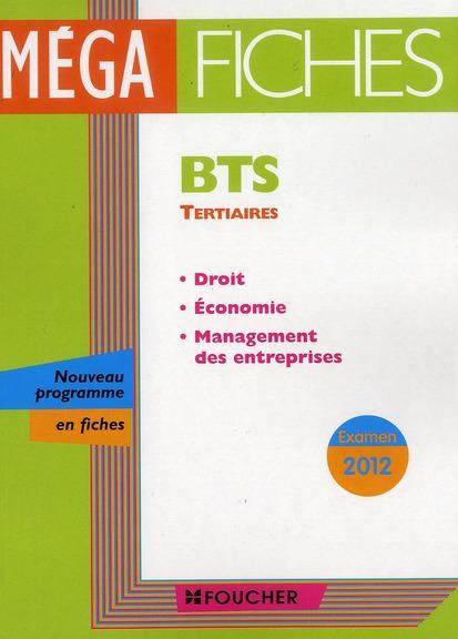 ECONOMIE - DROIT - MANAGEMENT DES ENTREPRISES EXAMEN 2012