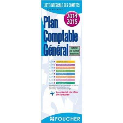 PLAN COMPTABLE GENERAL 2014-2015