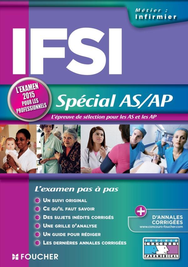 IFSI SPECIAL AS/AP - EXAMEN 2015 - N 18