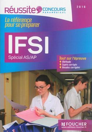 IFSI SPECIAL AS/AP - EXAMEN 2016 - REUSSITE CONCOURS N 18