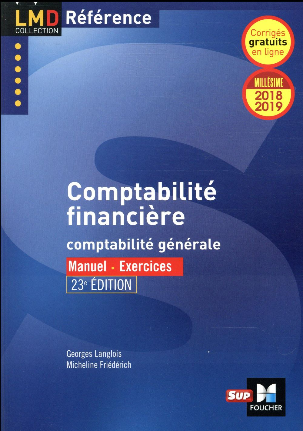 COMPTABILITE FINANCIERE - 23E EDITION - MILLESIME 2018-2019 - N 20