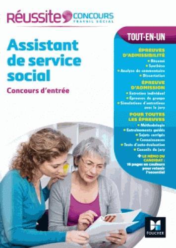 REUSSITE CONCOURS ASSISTANT DE SERVICE SOCIAL - CONCOURS D'ENTREE - N 43