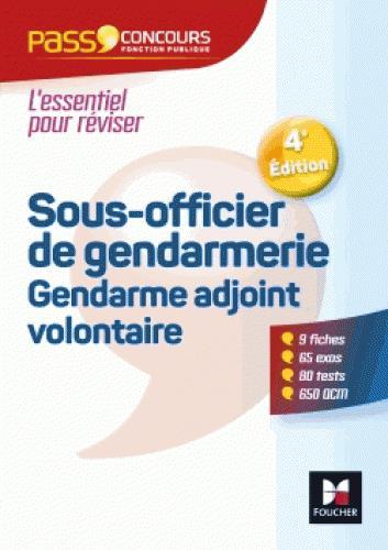 PASS'CONCOURS SOUS-OFFICIER DE GENDARMERIE / GENDARME ADJOINT VOLONTAIRE