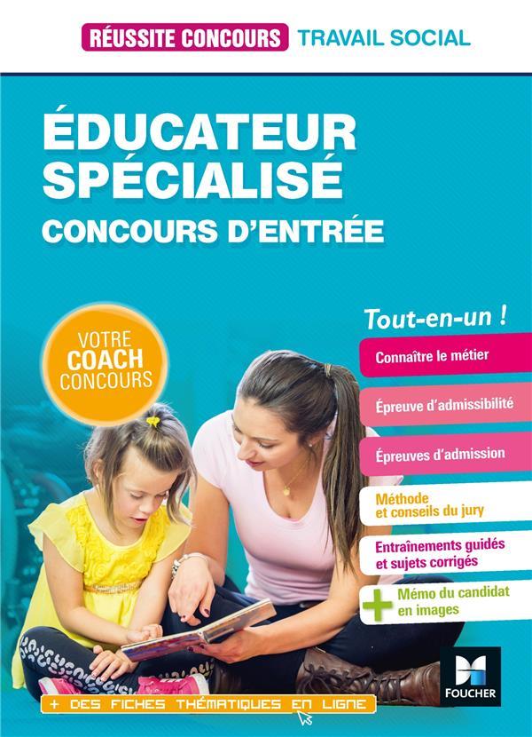 REUSSITE CONCOURS EDUCATEUR SPECIALISE - ES - PREPARATION COMPLETE