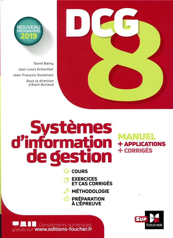 DCG 8 - SYSTEMES D'INFORMATION DE GESTION