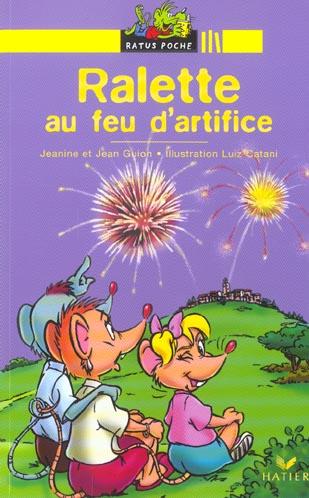 RALETTE AU FEU D'ARTIFICE  JAUNE