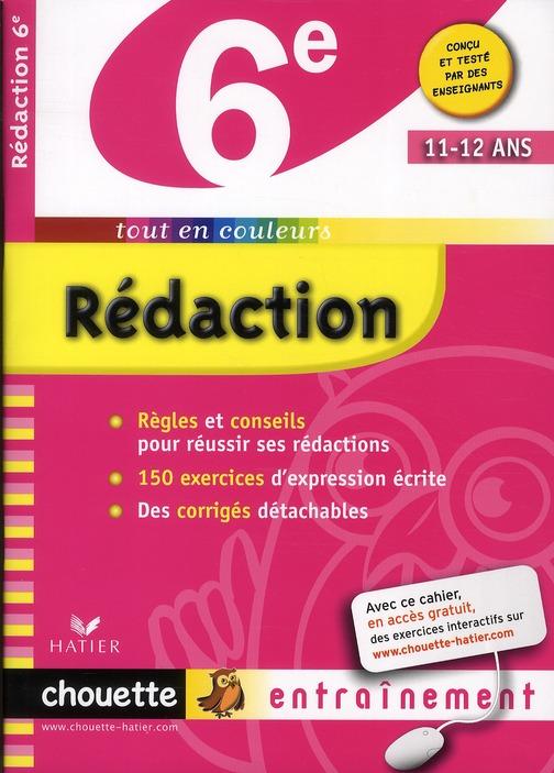 REDACTION 6E  - CHOUETTE