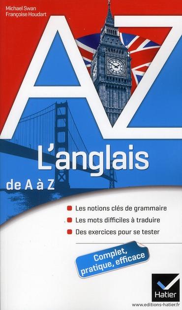 L'ANGLAIS DE A A Z