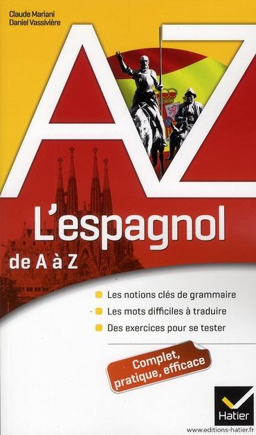 L'ESPAGNOL DE A A Z
