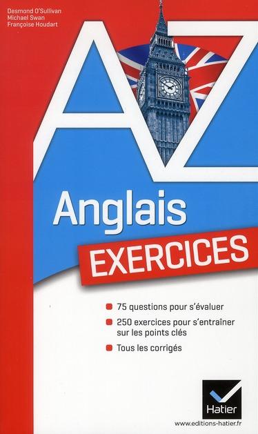 L'ANGLAIS DE A A Z : EXERCICES