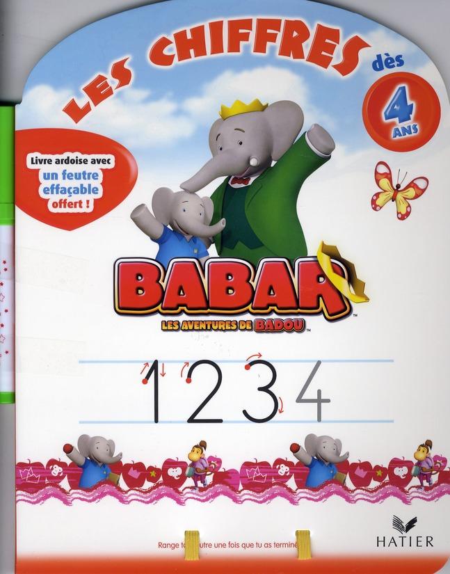 BABAR - LES CHIFFRES DES 4 ANS