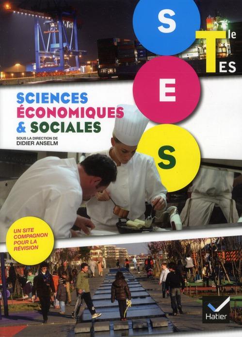 SCIENCES ECONOMIQUES ET SOCIALES TLE ES ED. 2012 - MANUEL DE L'ELEVE (FORMAT COMPACT)