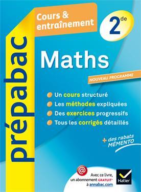 MATHS 2DE - PREPABAC COURS & ENTRAINEMENT
