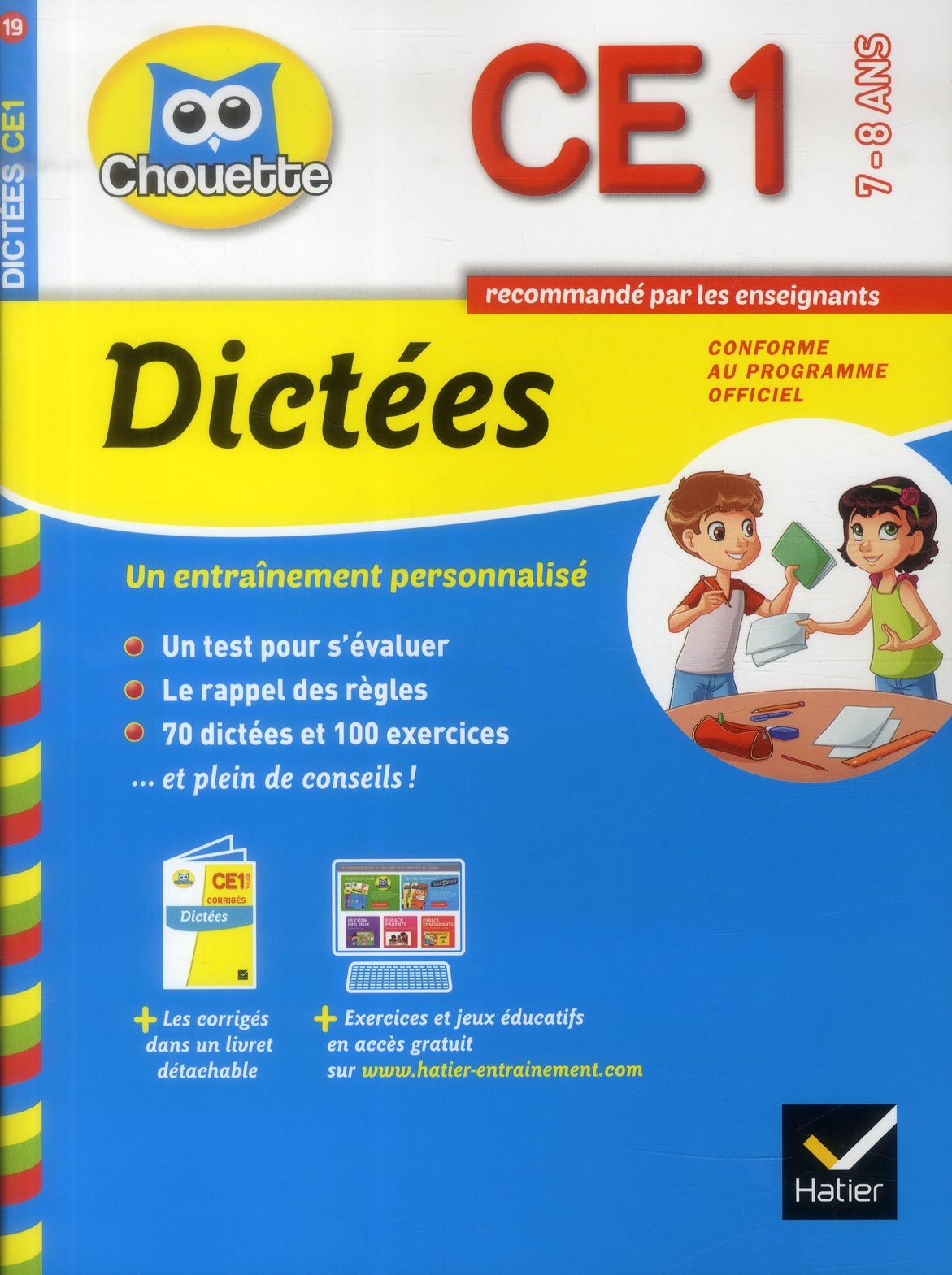 DICTEES CE1