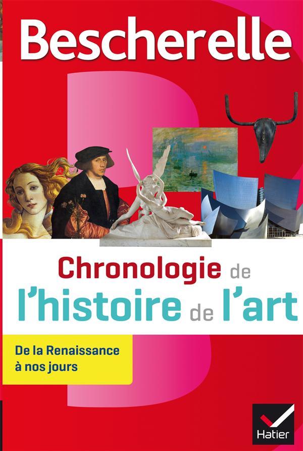 BESCHERELLE CHRONOLOGIE DE L'HISTOIRE DE L'ART